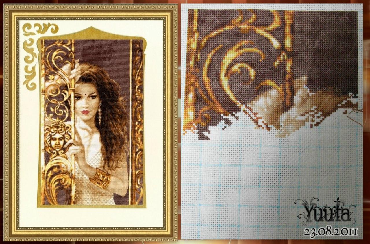 Сайт золотая вышивка крестом