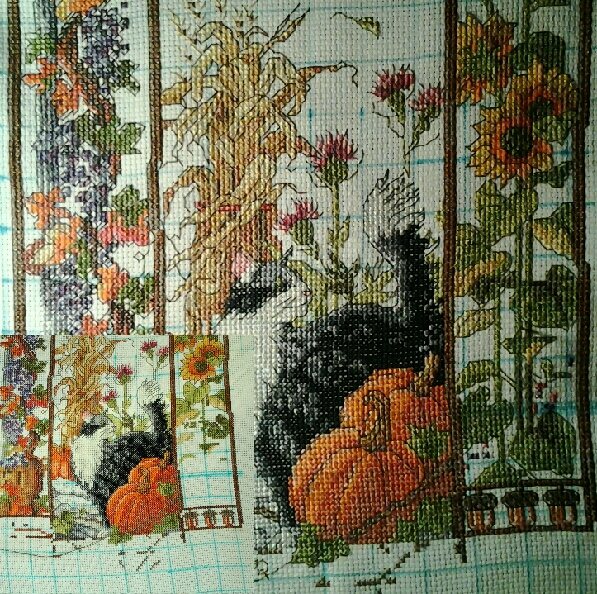 Cat Sampler by Janlynn