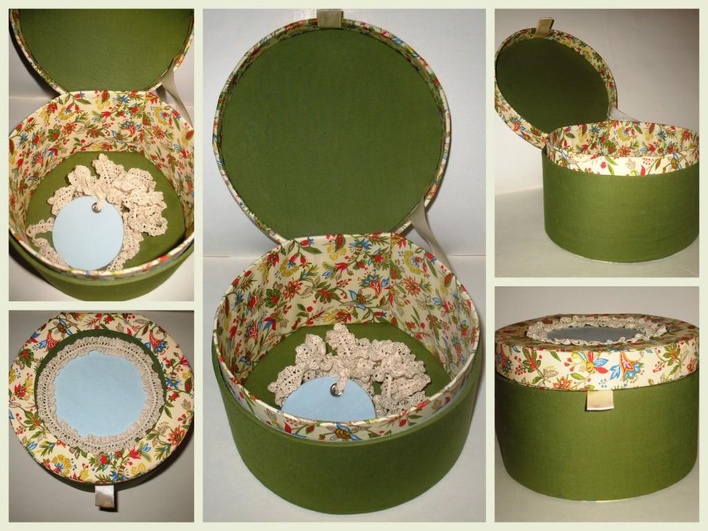 Декоративная коробка своими руками 762