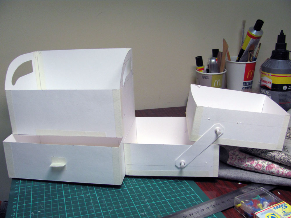 Ящики из бумаги своими руками 28