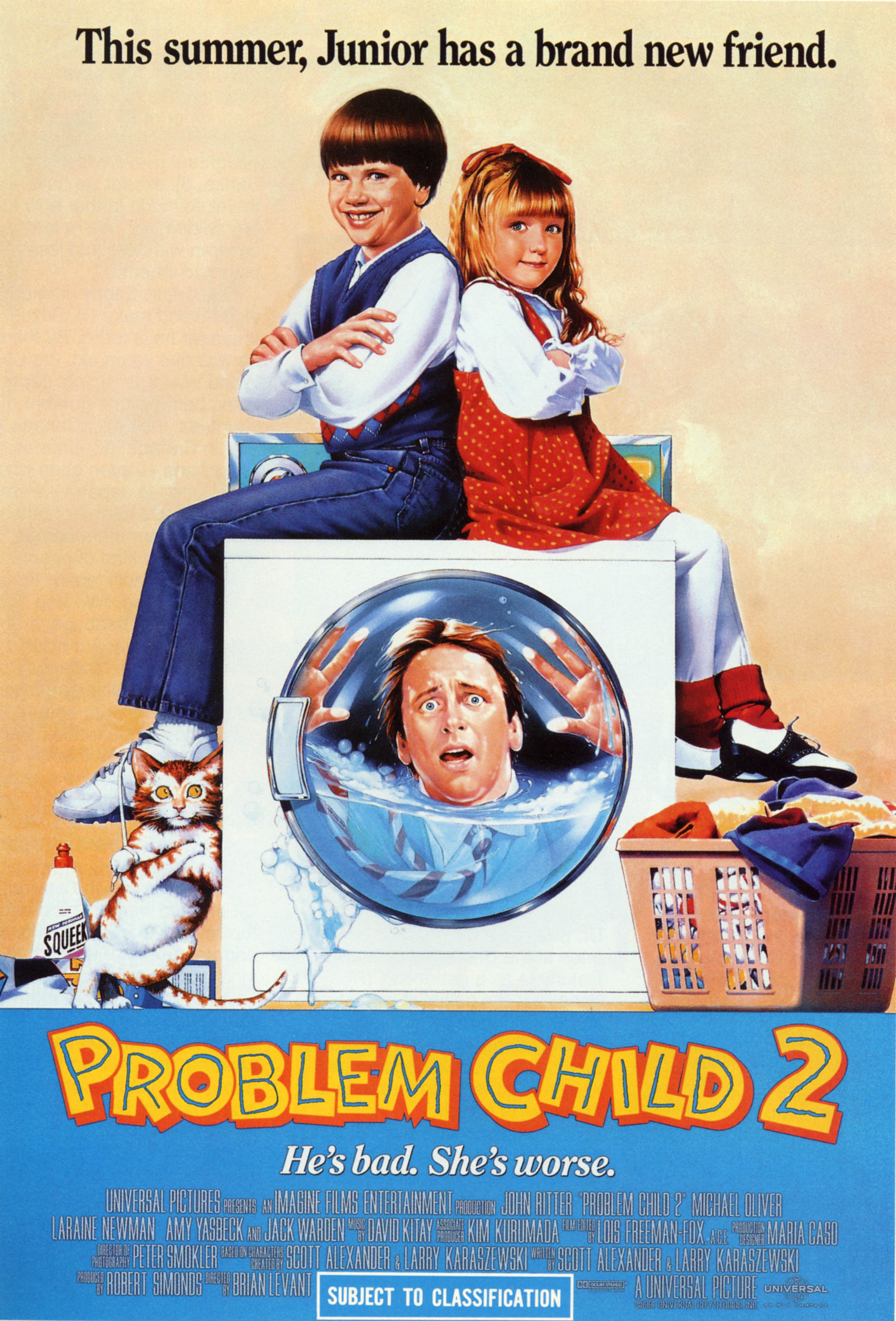 Mi Pobre Diablillo I y II | Problem Child I y II | 720p